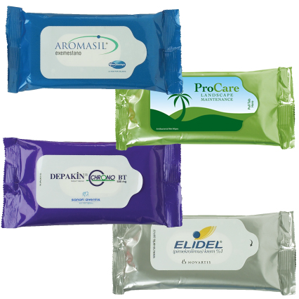 15 Count Antibacterial Wet Wipes Pouch W Lavender Scent