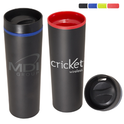16 Oz. Matte Finish Stainless Steel Tumbler