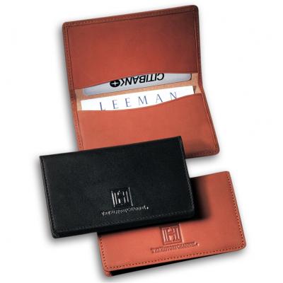 Alpine Card Case (Sueded Full-Grain Leather)