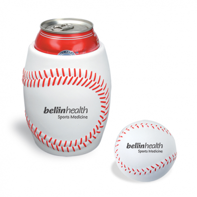 Baseball Ball in Can Holder Combo