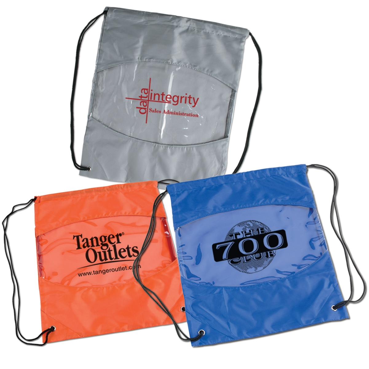 Clear View Drawstring Bag Prime Line