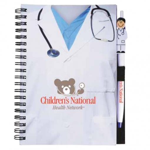 Doctor Notebook/Pen Combo