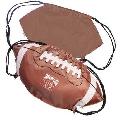 GameTime!® Football Drawstring Backpack