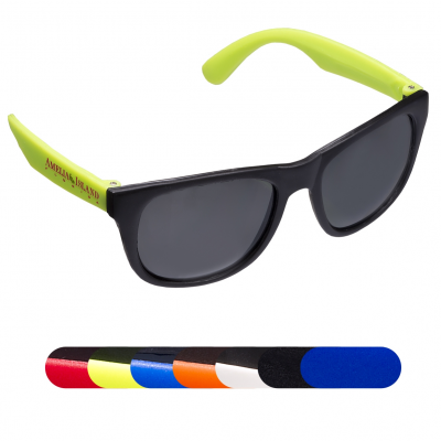 Matte Finish Fashion Sunglasses