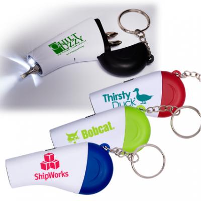 Screwdriver Flashlight Key Set