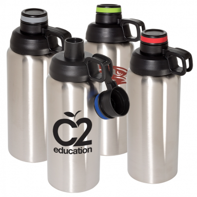 33 Oz. Double Wall Stainless Steel Vacuum Bottle