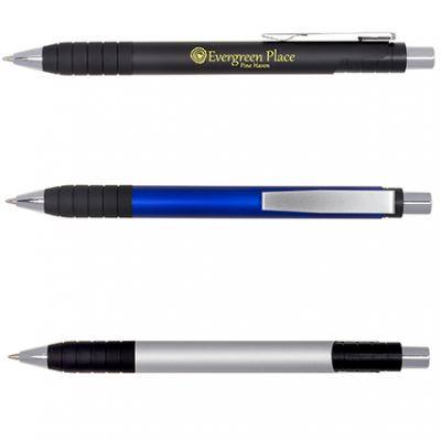 Tower Retractable Aluminum Pen