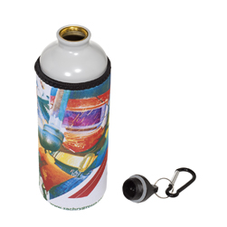 Aluminum Bottle w/Neoprene Sleeve