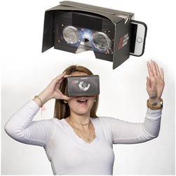 SourceAbroad® Cardboard Virtual Reality Headset