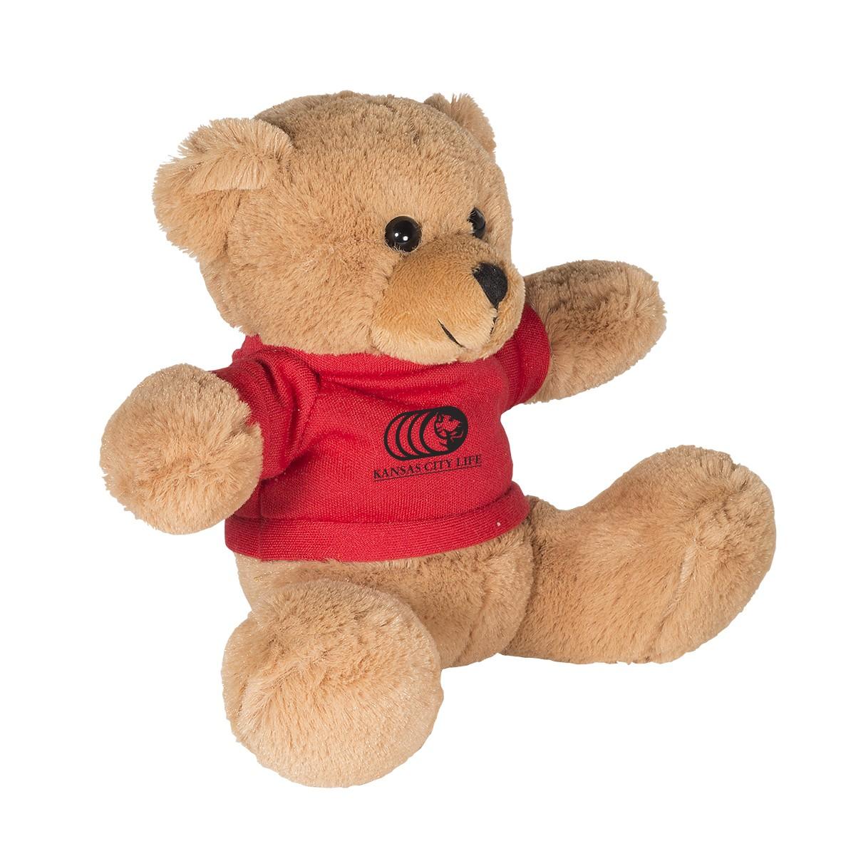 "7"" Plush Bear with T-Shirt"