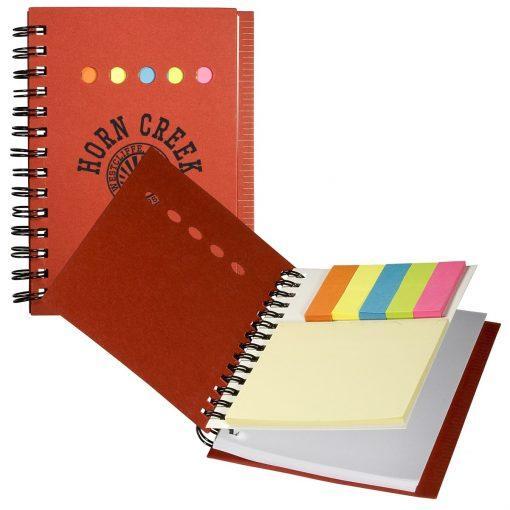 Eco Mini-Sticky Book™ w/Ruler