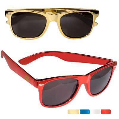 Metallic Mardi Gras Sunglasses