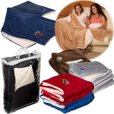 Jumbo Micro-Mink Sherpa Blanket