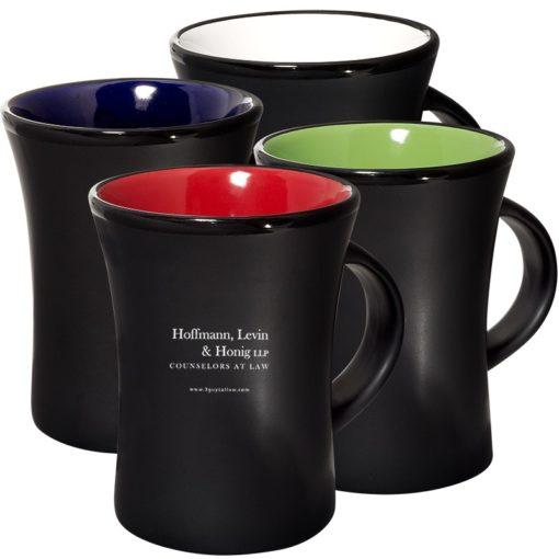 10 Oz. Tribal Curve Ceramic Mug