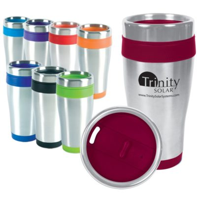 16 Oz. Blue Monday Travel Tumbler