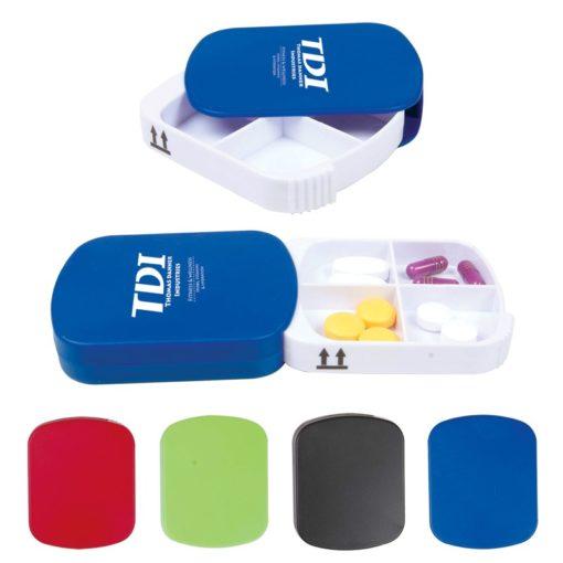 4 Compartment Pill Case
