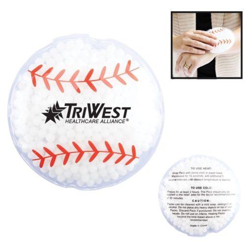 Baseball Hot/Cold Gel Pack