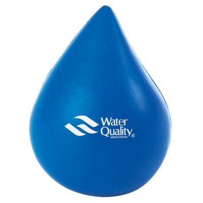 Blue Water Drop Stress Reliever