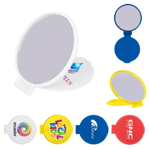 Compact Round Mirror