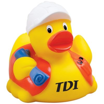 Construction Worker Rubber Duck