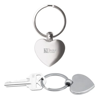 Heart Metal Keychain