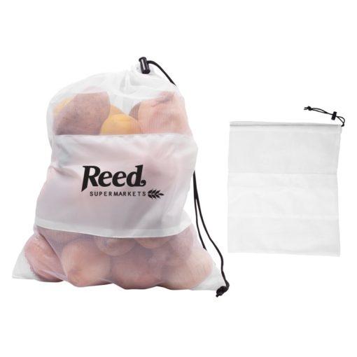 Mesh Vegetable Drawcord Bag