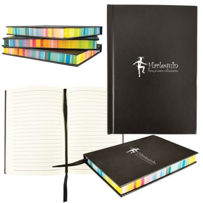 Multicolor Edge Notebook