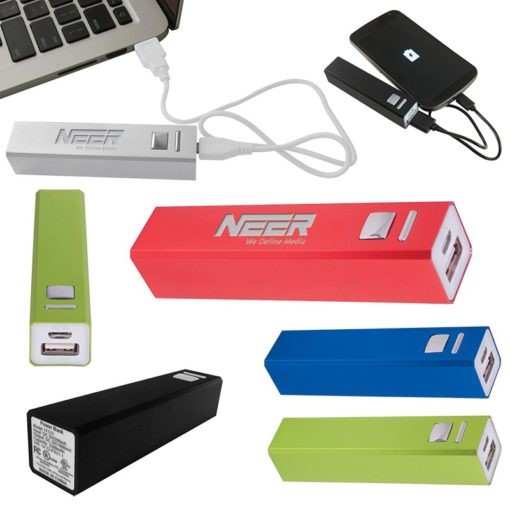 Portable Metal Power Bank Charger - UL Certified