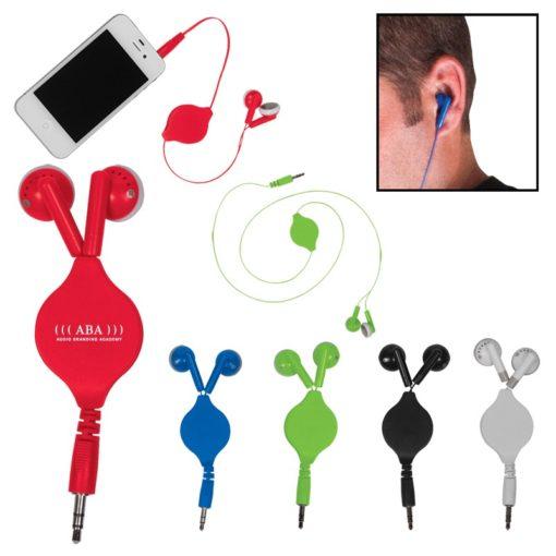 Retractable Ear Buds