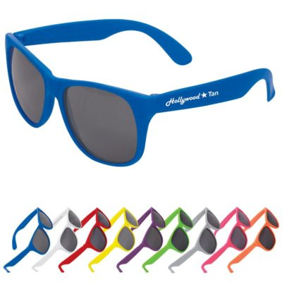 Single-Tone Matte Sunglasses