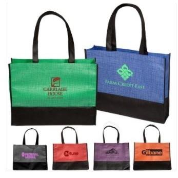 Tonal Non-Woven Tote Bag