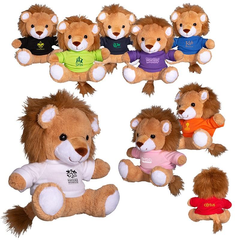 7 Plush Lion Stuffed Animal Prime Line Promos