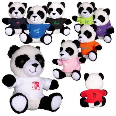 "7"" Plush Panda Bear Stuffed Animal"