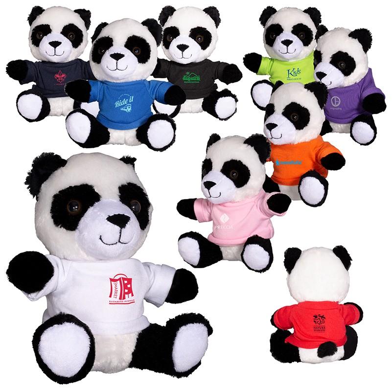 7 Plush Panda Bear Stuffed Animal Prime Line Promos