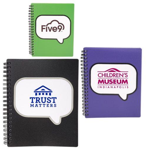 Logo-Burst™ Spiral Notebook