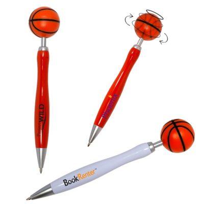 Basketball Spinner Ball Pen