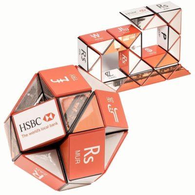 Custom Rubik's® Twist-A-Snake