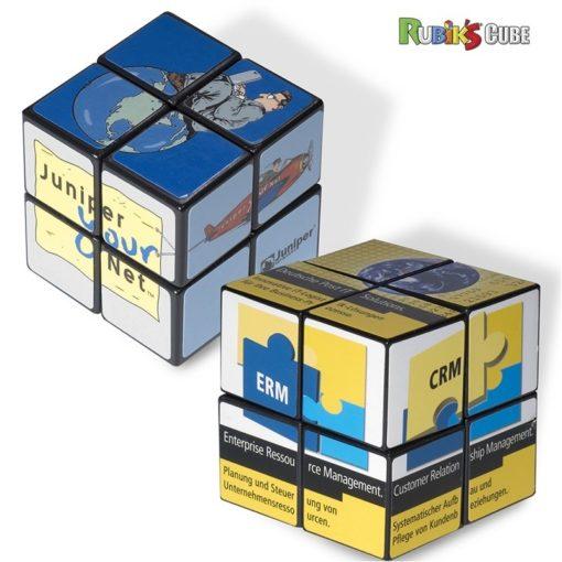 Rubik's® 4-Panel Mini Custom Cube