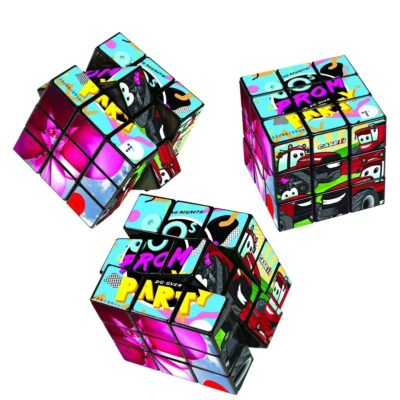 Rubik's® 9-Panel Full Custom Cube