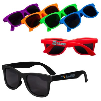 Youth Single-Tone Matte Sunglasses