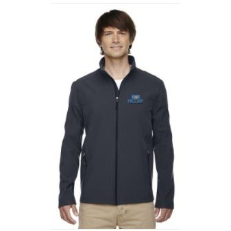 Core365® Men's Cruise Two-Layer Fleece Bonded Soft Shell Jacket