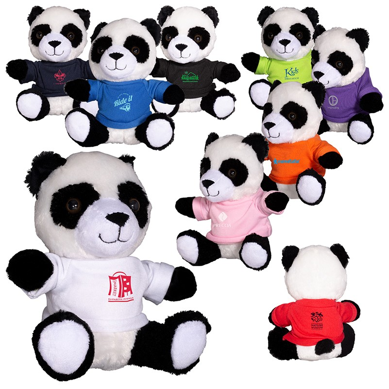 7 Plush Panda Stuffed Animal Prime Line Promos