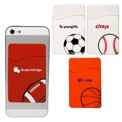 Sport Theme Silicone Pocket Sleeve
