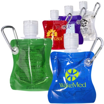 1 Oz. Collapsible Hand Sanitizer