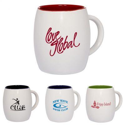 14 Oz. Morning Show Barrel Mug