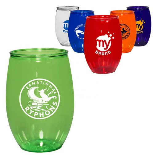 16 Oz. PET Stemless Wine Glass
