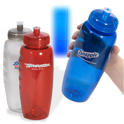 30 Oz. PolyClear™ Gripper Bottle