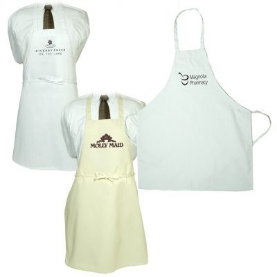 Butcher Apron (Natural & White)