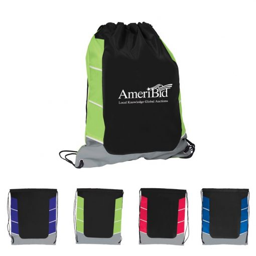 Color Curve Drawstring Bag