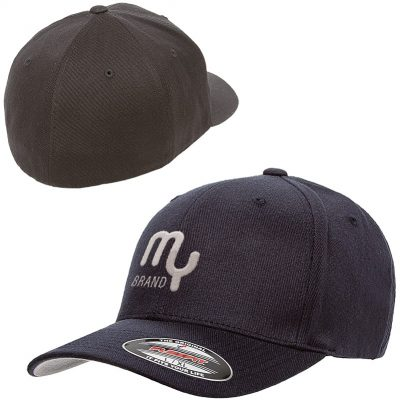Flexfit® Wool Blend Fitted Cap